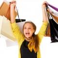 Mulher que consome sem limites usa as compras como escape