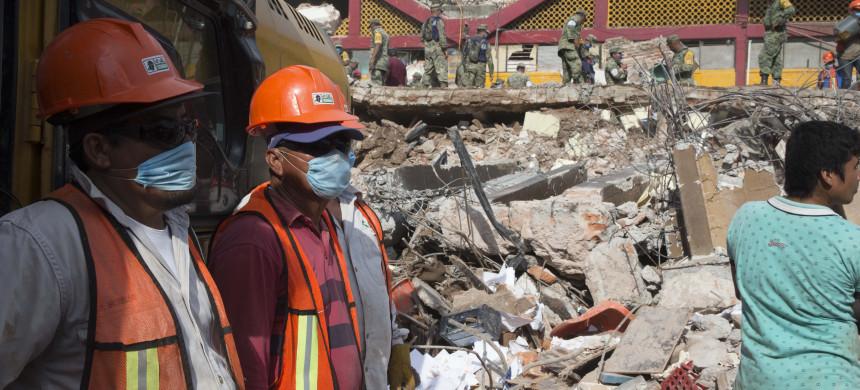 E se você estivesse no México durante o terremoto?